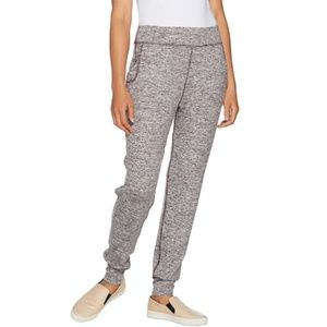 Space Dye Knit Pants with Pockets